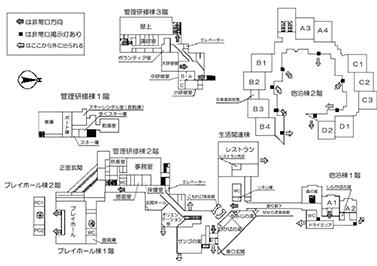 施設マップ(平面)